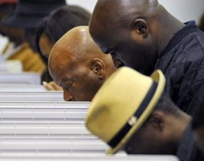 African American Voters on Election Day Cropped