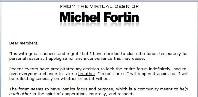Michael Fortin Copywriters Board Letter Cropped