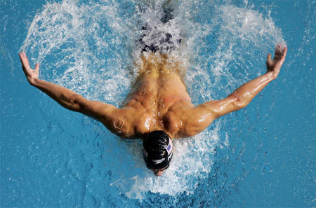 Michael Phelps Swimming Bejing 2008 Olympics