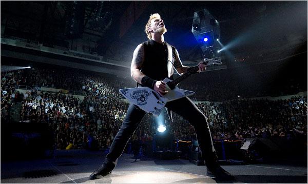 James Hetfield Metallica Nassau Coliseum