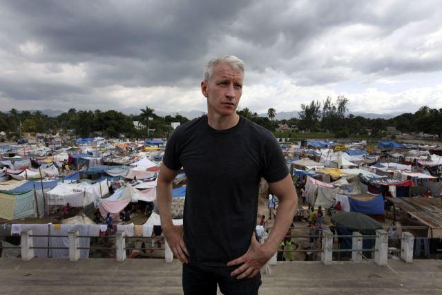 Anderson Cooper in Haiti